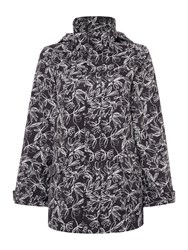 Tigi All Over Print Coat Black