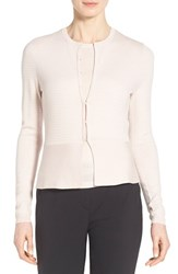 Women's Boss 'Fotini' Wool Blend Peplum Cardigan