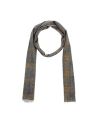 Mattabisch Oblong Scarves Grey