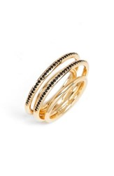 Jules Smith Designs Pave Ring Gold