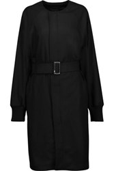 Y 3 Adidas Originals Wool Blend Coat Black