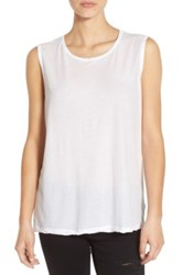 James Perse Relaxed Fit Tank White