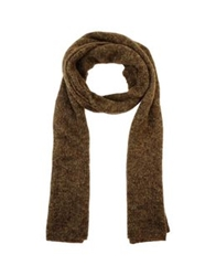 Jucca Oblong Scarves Brown