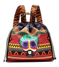 Etro Printed Backpack Multicoloured