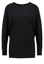 Dorothy Perkins Long Sleeved Top Charcoal Grey