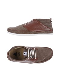 Volta Lace Up Shoes Dark Brown