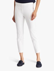 Ralph Lauren Keslina Cropped Trousers White