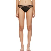 Aubade Black Tulle Thong