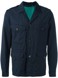 Paul Smith Military Jacket Blue