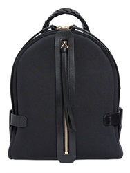 Desa Nineteenseventytwo Sixty Five Neoprene And Leather Backpack