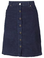 Fat Face Cord Button Through Skirt