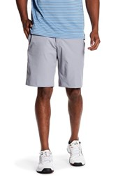 Adidas Climalite 3 Stripe Short Gray
