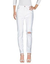 Care Label Jeans Ivory