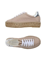 Macarena Footwear Low Tops And Sneakers Beige