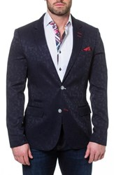 Maceoo Socrate Sport Coat Blue