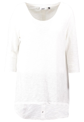 Only Onlcasa Long Sleeved Top Cloud Dancer Off White
