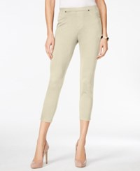 Styleandco. Style Co. Twill Capri Leggings Only At Macy's Stonewall
