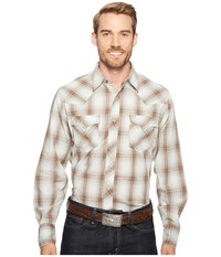 Roper 1002 Lagoon Ombre Brown Men's Clothing