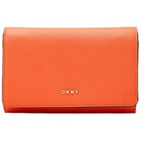 Dkny Bryant Park Saffiano Leather Medium Carryall Purse Orange