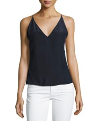 J Brand Lucy Silk Camisole Top White