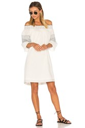 Velvet By Graham And Spencer Deandria Off Shoulder Dress White