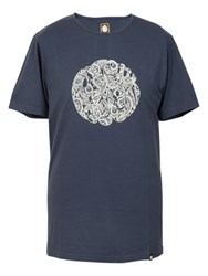 Pretty Green Logo T Shirt Navy