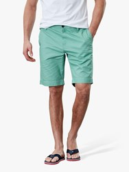 Joules Laundered Oxford Shorts Mint Green