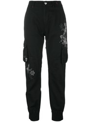 Twin Set Studded Trousers Black