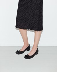 Simone Rocha Beaded Low Pump Black