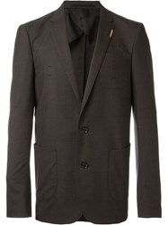 Kolor Two Button Jacket Brown