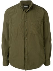 Aspesi Long Sleeve Shirt Green