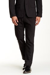 Kenneth Cole Flat Front Dress Pant 29 34 Inseam Black