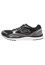 Lotto Speedride Iv Cushioned Running Shoes Black Silver Metallic