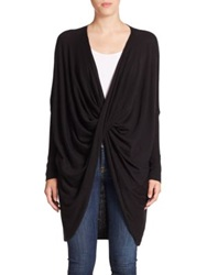Tart Rose Cardigan Black