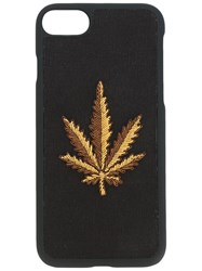 Palm Angels Weed Iphone 6 Case Black