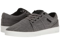 Supra Ineto Grey White Men's Skate Shoes Gray