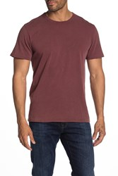 7 For All Mankind Boxy T Shirt Dkburgundy