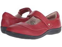 Revere Amalfi Blood Red Women's Flat Shoes