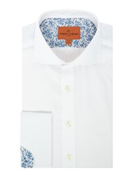 Simon Carter Men's Twill Cooper Shirt White
