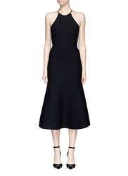 Alexander Wang Cutout Lace Back Knit Dress Black