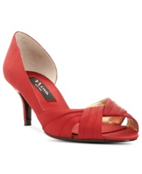 Nina Culver Evening Sandals Women's Shoes Red