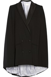 Band Of Outsiders Wool Crepe Cape Black