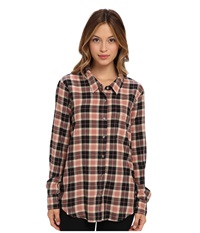 Soft Joie Anabella 5706 27430 Almond Rouge Caviar Women's Long Sleeve Button Up Multi
