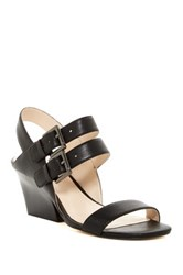 Nine West Gadele Chunky Heel Sandal Black