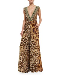 Camilla Ruler Of The Underworld Twist Back Animal Print Jumpsuit