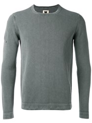 Weber Weber Long Sleeve Fitted Sweater Men Cotton 54 Grey