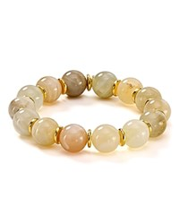 Bourbon And Boweties Stretch Bracelet Nude