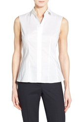 Boss 'S 'Bashiva' Sleeveless Poplin Shirt