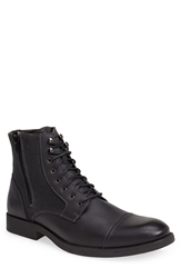 Robert Wayne 'Edgar' Cap Toe Boot Men Black