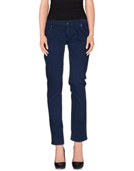 Freesoul Trousers Casual Trousers Women Dark Blue